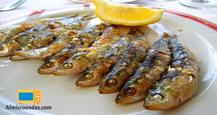sardinas al microondas